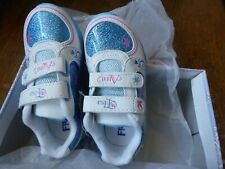 New Authentic Disney Frozen Girl's Elsa Anna Sneakers Athletic Shoes Size 9