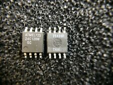 AT24C128W-10SC ATMEL EEPROM Serial-2Wire 128K-bit 8-Pin SOIC 10 pieces