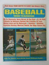 Vintage Baseball 1969 Yearbook Denny McClain Bob Gibson Mickey Lolich Magazine