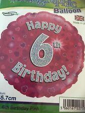 Happy 6th Birthday Balloon