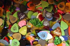 35 Random Guitar Pick Grab Bag Electric Bass Acoustic Alice Dunlop Tortex Ultex