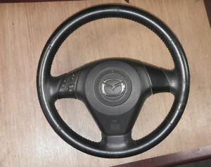 Mazda 3 BK Bj.03-09 Lenkrad Lederlenkrad NBP4N 00