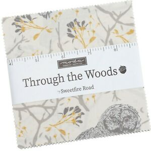 Through the Woods Charm Pack by Sweetfire Road for Moda Fabrics