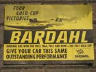 Vintage Bardhal Oil poster hydroplane u 40 (Four Gold Cup Victories)  NOS