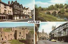 Postcard - Ludlow - 4 views