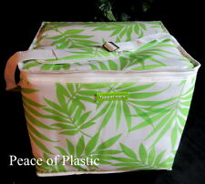 Tupperware New Cooler Insulated 15 x13 x12 Picnic Cooler Beach Bag Tropical Tote