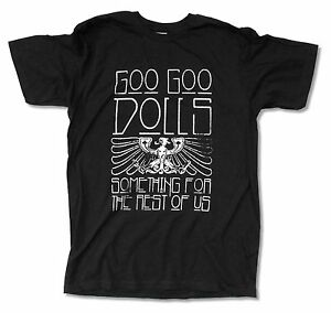 Goo Goo Dolls Eagle Tour 2011 Black T Shirt New Official Something For