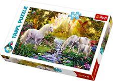 Trefl 100 Piece Kids Large Secret Garden Horses Flowers Jigsaw Puzzle NEW