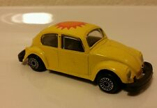 VTG Zylmex Zee D20 Volkswagon Yellow Beetle Bug w/ Heart-Sun Roof