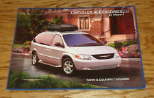 2003 Chrysler Town & Country Voyager Mopar Accessories Sales Brochure 03