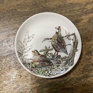 Johnson Brothers Game Birds England Vintage Plate Quail