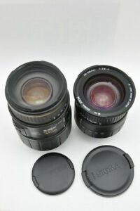 Sigma 28-105 AF und 70-300mm APO AF für Nikon - AF Zoom-Objektiv Set- TOP