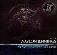 Best of Waylon Jennings: Platinum Artist Series by Waylon Jennings (CD,...