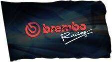 Brembo Flag Banner 3x5 ft Brake Car Racing Disc Bike Racing Man Cave
