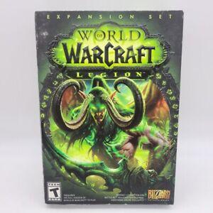 World of Warcraft: Legion Expansion Set (Windows/Mac,PC,2016) NEW Factory SEALED