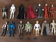 ** FIGURAS VINTAGE ** Lote 14 Figures Star Wars Kenner Original