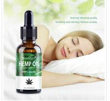 30 ml Bio-Hanf Öl Tropfen 2000 mg Ultra Premium 100% Organisch Vegan 700Tropfen