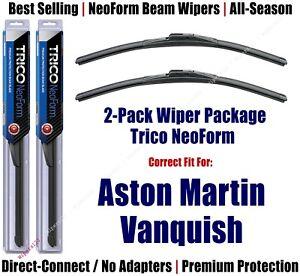 2pk Super-Premium NeoForm Wipers fit 2006 Aston Martin Vanquish - 16210x2