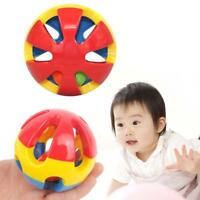 Cute Handbell Musical Developmental Bed Bell Baby Toy Rattle Three-color Ball GA