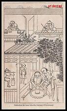 GRAVURE PORCELAINE DE CHINE VASES TCHO-KHI  CHINA   1856 - 2H