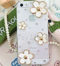 Handmade Luxury Bling Jewelled Rhinestone Diamond Crystal Soft Gel Case Cover #2