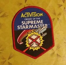 ~ Atari 2600 VCS Vintage 80's Activision Patch -- Starmaster Ensign Patch ~
