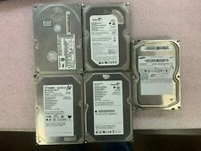 """Lot of 5, Miscellaneous IDE 3.5"""" Internal Hard Drives"""