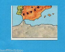EUROPA 80-PANINI-Figurina n.7- CARTINA EUROPA 7/9 - Recuperata