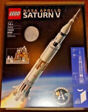 New Sealed LEGO Ideas 21309 NASA Apollo Saturn V Rocket in hand & ready to ship
