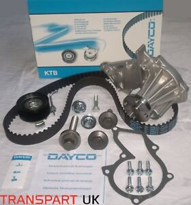 VOLVO S40 V50 C30 1.6 PETROL DAYCO TIMING BELT CAM BELT KIT & WATER PUMP