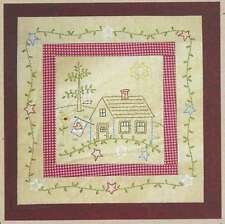 ALL 12 HOUSES BLOCK OF THE MONTH QUILTING PATTERNS, From Bareroots Patterns NEW