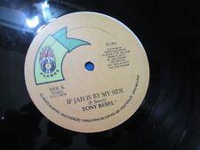 "Tony Rebel ""If Jah Is By My Side"" Reggae 12"" Flames"