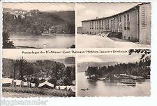 Talsperre Kriebstein Pionierlager Ernst Thälmann AK alt Mehrbild Sachsen 1603001