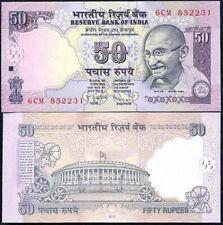 INDIA 50 RUPEES 2010 P 97 UNC