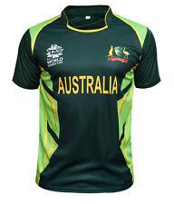 Men Cricket T Shirt T20 Cup Jersey Indian Australia Pakistan Zealand 2017 India M