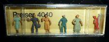 Preiser, Vintage, New Package, Item# 4040, Ho scale, Farm Workers, 6x