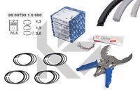 4x Kolbenringe Reparatursatz 800079010000 STD SKODA VW AUDI SEAT 1,4 TSI