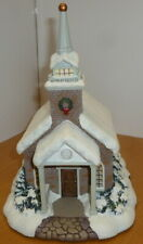 More details for hawthorne christmas village - snow covered - serenity chapel