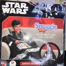 Star Wars Snuggles For Kids- Darth Vader Snuggie Brand New In Box
