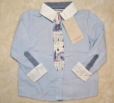 Monsoon Striped Shirts (0-24 Months) for Boys