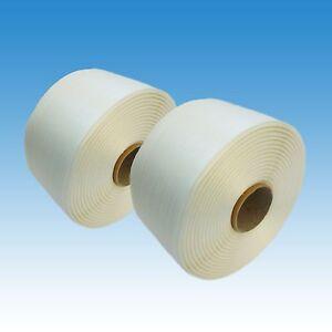 2 Rollen Textil Umreifungsband 16 mm, 850m 450kg Umreifung Kraftband Polyester