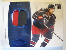 Antoine Vermette 2010-11 Panini DOMINION 3-COLOR GAME-WORN JERSEY NUMBER /25