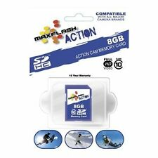 NEW MAXFLASH ACTION MEMORY CARD 8GB CLASS 10 FIT GOPRO GO PRO HELMET CAMERAS