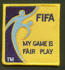 FIFA FOOTBALL SOCCER Referee Coach Embroidered Iron On Cloth Shoulder Patch