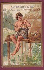 Chromo AU SABOT D'OR FLEURY - 120613 - premier pêcheur à la ligne