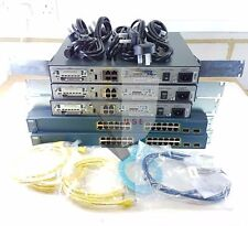 CISCO CCNA LAB KIT 3x 1841, 2x 2960, 1x 3560, WIC-1T & CABLES 109+ SOLD!