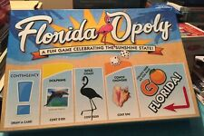 Floridaopoly Board Game - Complete Preowned