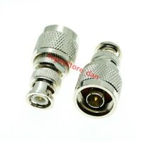 N type Male Plug To BNC Male Plug Straight RF Coaxial Connector copper Adapter