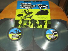 "PINK FLOYD ""OPEN AIR - POP FESTIVAL"" - LIVE - 2LP - CRYSTAL vinyl + POSTER"