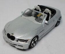 BURAGO VTG 1995 - 1:43 BMW M ROADSTER GREY DIE CAST TOY CAR ITALY MADE